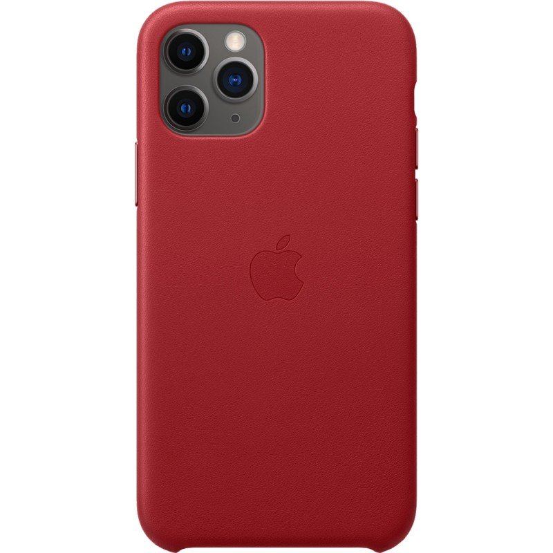 Чехол Apple Leather Case iPhone 11 Pro Max