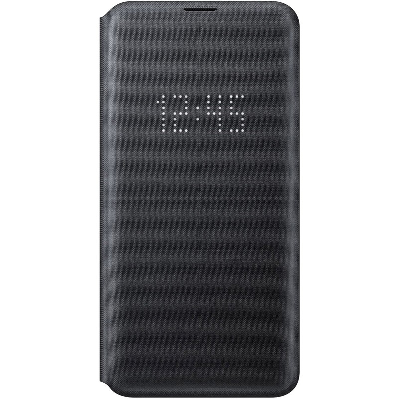 Husă Samsung LED View Cover (Black), Galaxy S10e,