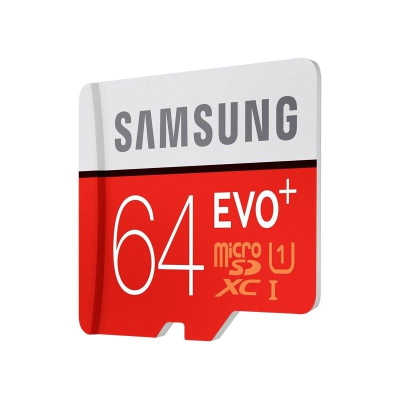 Карта памяти Samsung microSDXC EVO plus