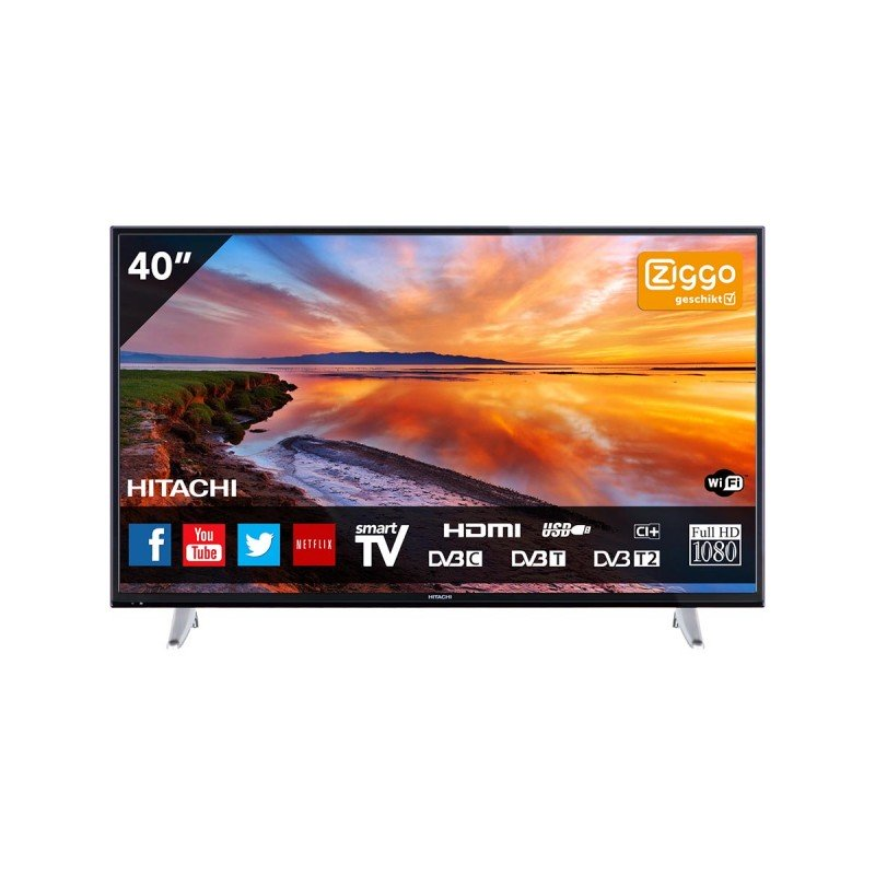 LED телевизор Smart TV Full HD HITACHI
